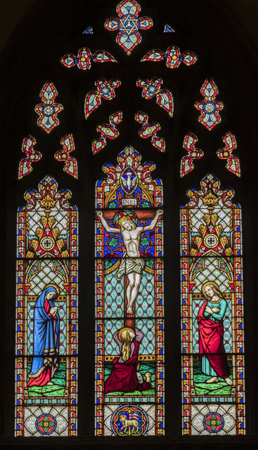 East window, St Mary Magdalene church, Waltham on the Wolds
