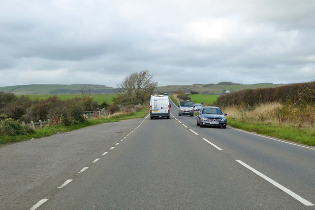 Layby on B3157