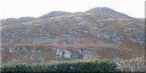 J0016 : Rock outcrops and screes on Crosslieve by Eric Jones