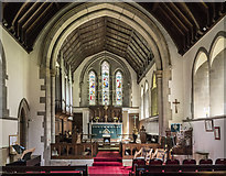 SE3265 : St John the Baptist, Bishop Monkton - Chancel by John Salmon