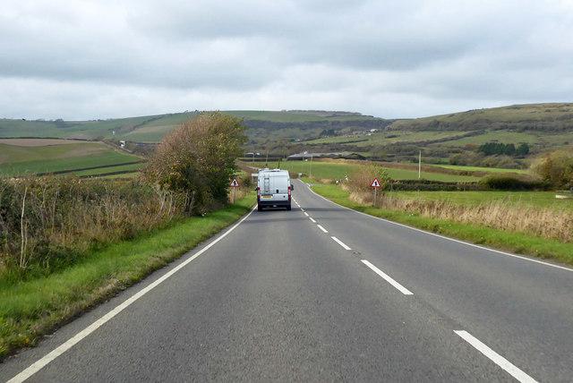 B3157 towards Portesham