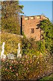 TQ1352 : Rose Garden, Polesden Lacey by Ian Capper