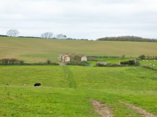 Ruins of Black Down Barn