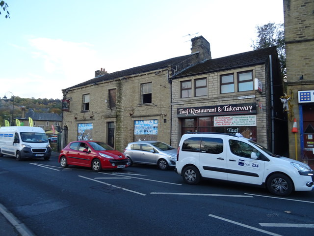 The former Post Office public house, Milnsbridge