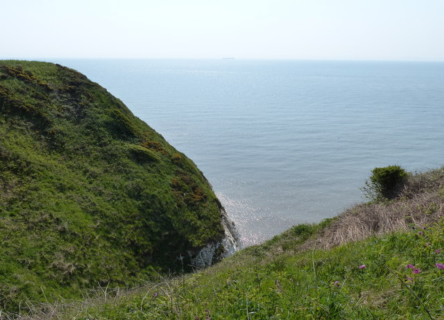 Sand Hole gully along the Flamborough coastline