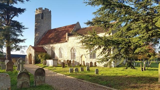 All Saints' church, Kirby Cane