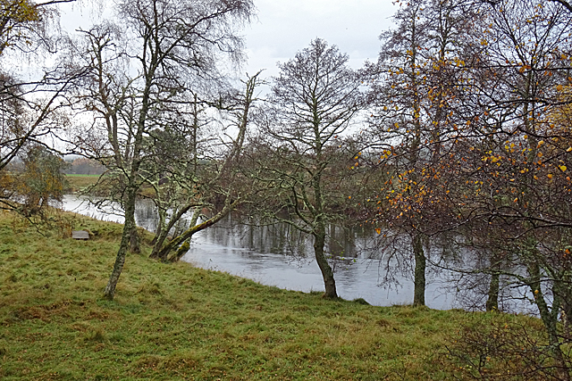 A Glimpse of the River Spey