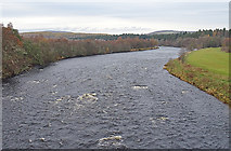 NJ0326 : River Spey by Anne Burgess