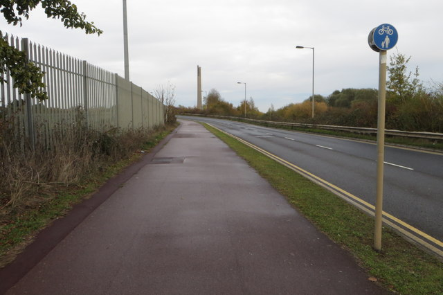Footpath into town