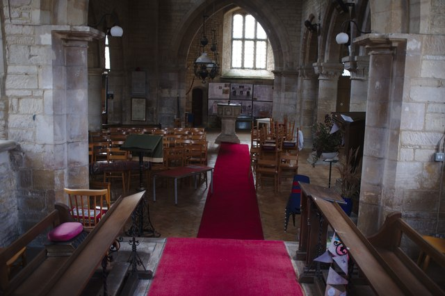 The Church of St Bartholomew: The celebrant's view