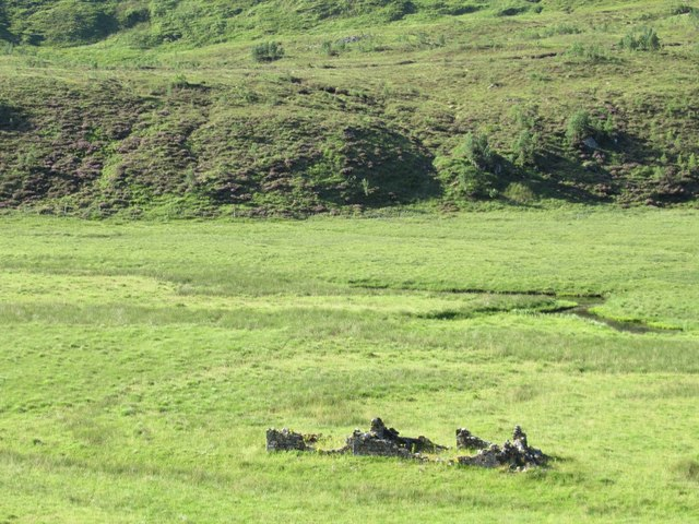 Ruin in Glen Affric