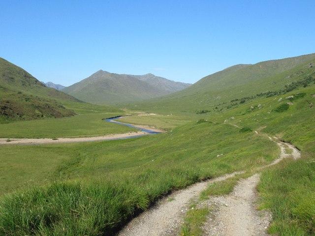 Road up Glen Affric