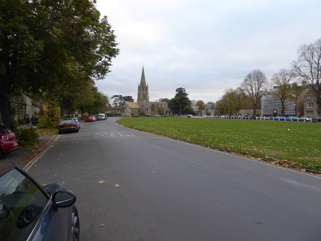 View on Church Green in Witney