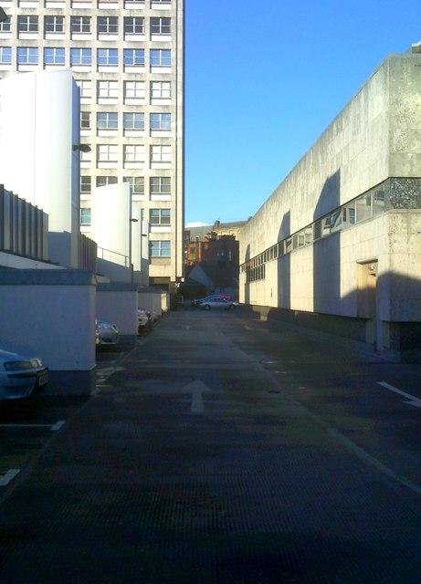 Roof Car Park View