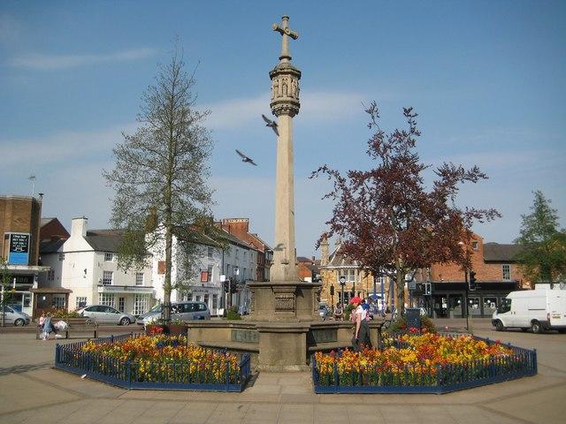 Market Harborough: The War Memorial