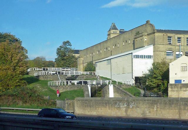 Locks on the Leeds & Liverpool Canal