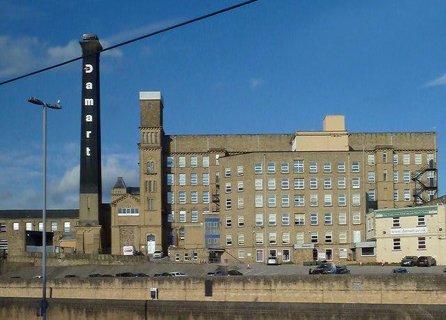 The Damart Mills at Bingley