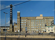 SE1039 : The Damart Mills at Bingley by Mary and Angus Hogg