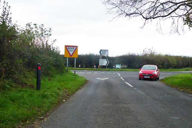 Junction at Toller Down Gate