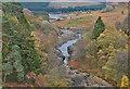 SN8968 : The Elan gorge below Craig Goch dam by Nigel Brown