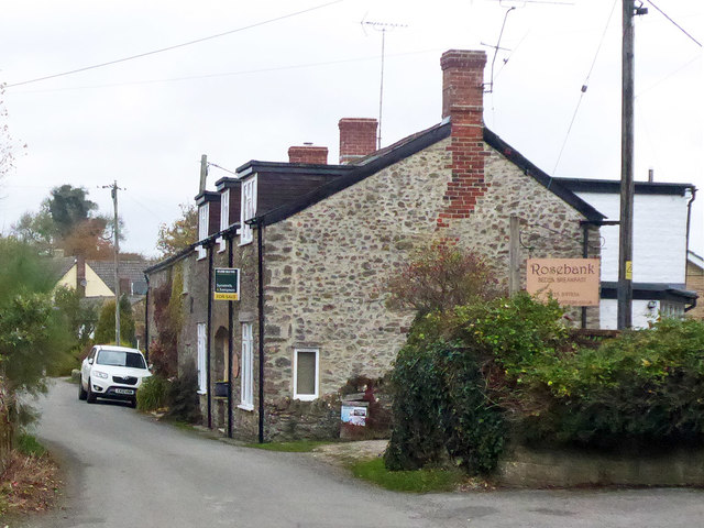 Cottages, High Street, Corscombe
