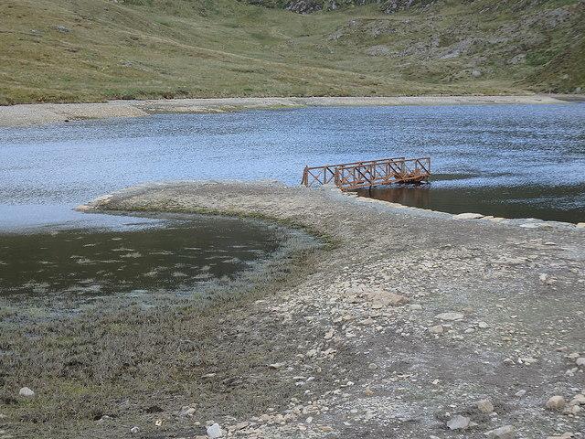 Old dam, Llyn Llygad Rheidol