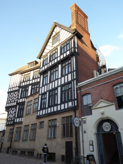 Mock Tudor building in King Street
