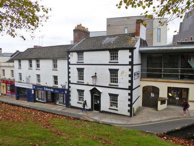 Former Kings Arms. Yeovil