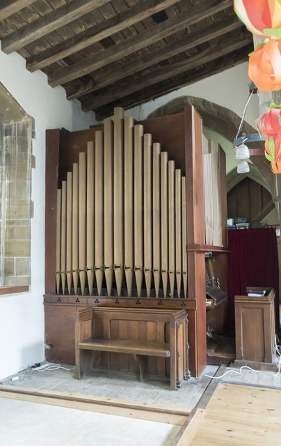 Organ, St Mary Magdalene church, Waltham on the Wolds