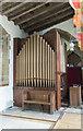 SK8025 : Organ, St Mary Magdalene church, Waltham on the Wolds by Julian P Guffogg