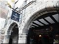 NT2573 : Entrance to Gladstone's Land, Edinburgh by David Hillas