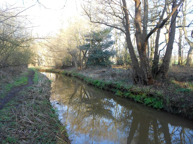 Mill Bourne: Upstream of Emmett's Mill