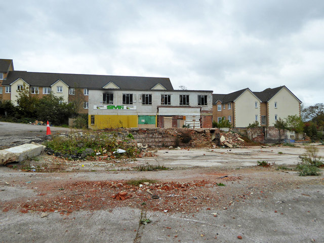 Partly cleared site, Yeovil