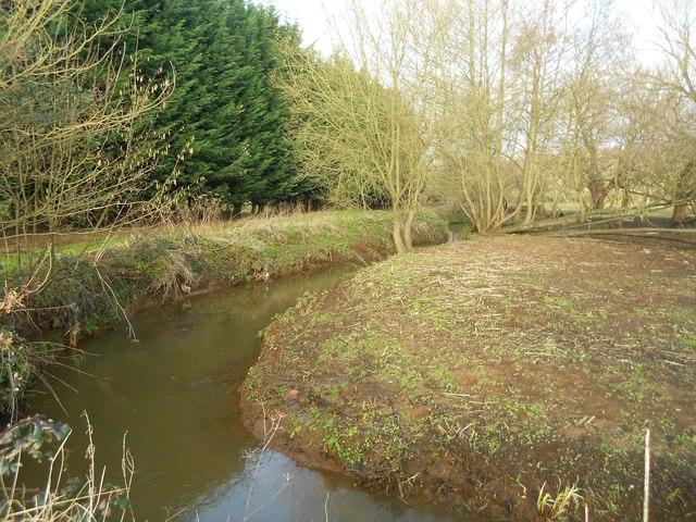 Mill Bourne: Near Sow Moor