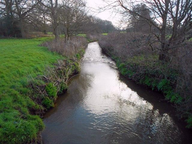Mill Bourne: Downstream of Chobham