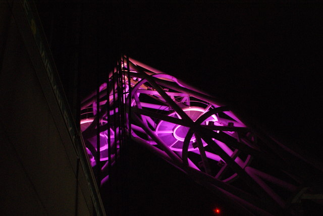 View of the Wembley Stadium arch from the stadium walkway #3