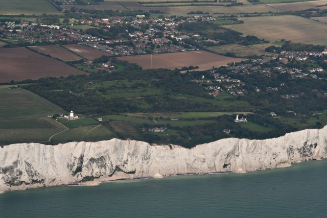 White Cliffs, South Foreland Lighthouse    © Chris