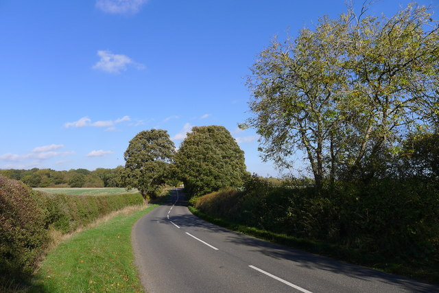 Road from Empingham to the A1