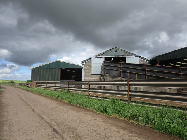 Farm buildings at Heatheryhall