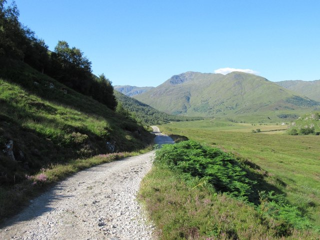 Road to Athnamulloch, Glen Affric