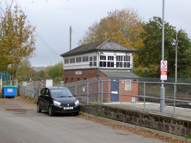 Yeovil Pen Mill signal box