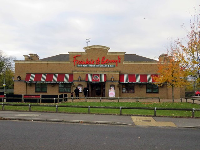 Frankie & Benny's on the Scunthorpe Retail Park