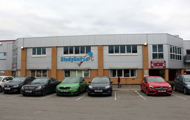 The offices at Glanford Park