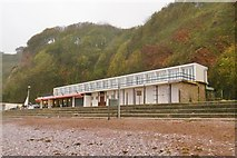 SX9265 : Babbacombe, café & cabins by Mike Faherty