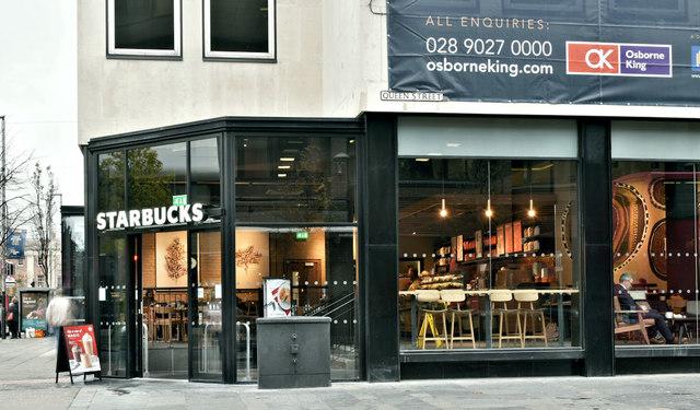 Starbucks, Wellington Place, Belfast (November 2018)