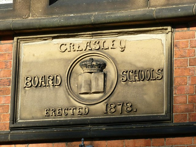 Greasley Board Schools erected 1878