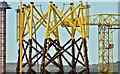 J3575 : Wind turbine parts, Harland & Wolff, Belfast  -  November 2018(2) by Albert Bridge