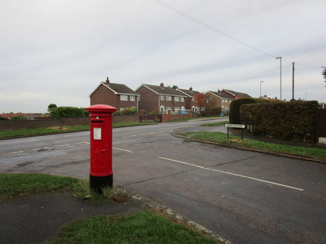Pillarbox and the junction of Sandymount and Bawtry Road