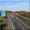 TL4255 : South of Junction 12 on the M11  by John Sutton