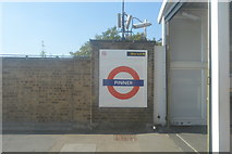 TQ1289 : Pinner Underground Station by N Chadwick